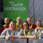 Die Christlichen Pfadfinder Vilsen auf dem Kirchentag 2019 in Dortmund